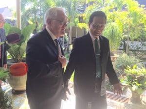 Minister Andrew Robb dan Sri Sultan Hamengkubuwono X
