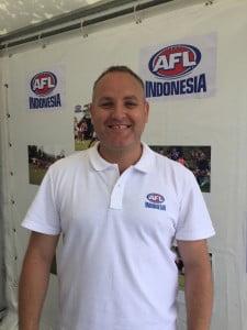 Ian Shearer (AFL Indonesia) mengajak masyarakat Indonesia untuk membantu dan mendukung perkembangan olahraga khas Benua Kangguru ini