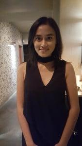 Sasya Natasanthi, 18, panitia IFF, mahasiswi University of Melbourne
