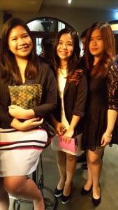 Melita (tengah), 20, mahasiswi University of Melbourne