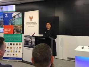Konsul Jenderal KJRI Melbourne Dewi Savitri Wahab