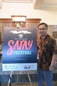 Ketua Perwira dan Event Director Satay Festival 2016 Riza Radjatjut berharap acara ini dapat terus dipertahankan dari tahun ke tahun