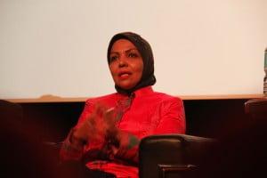 Anggota DPR RI Komisi 1 Nurhayati Ali Assegaf turut menyumbangkan opininya