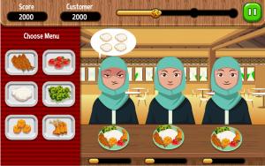 Food serving challenge