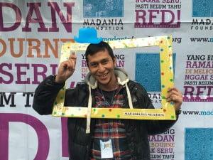 Project Officer dari Ramadhan Family Day 2016 Andre Kasmir