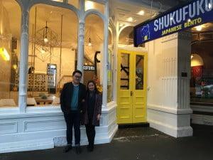 Candranata Ng dan Patricia Perwata, sang empunya Shukufuku