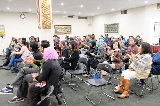 Masyarakat Indonesia berkumpul di KJRI Melbourne untuk mengetahui lebih dalam tentang TA