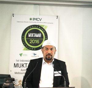 Ketua IMCV Neil Siregar