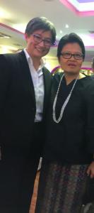 Senator Penny Wong dan Konsul Jenderal RI Dewi Savitri Wahab