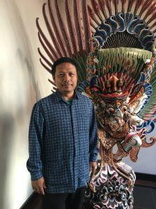 Ketua panitia acara, Edi Riyanto