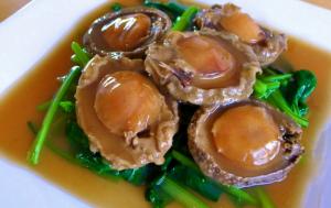 menu Abalone