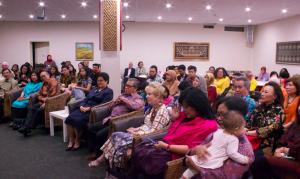 Setidaknya 100 tamu undangan hadir di acara perpisahan yang dihelat di KJRI Melbourne