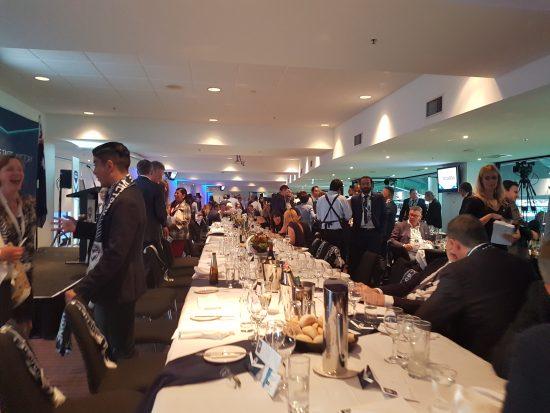 Sebagai salah satu ambasador Melbourne Victory, BUSET menghadiri Chairman's function menonton pertandingan persahabatan melawan Sydney FC