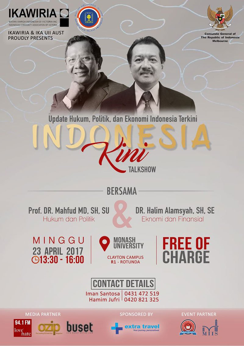 INDONESIA KINI TALKSHOW by IKAWIRIA and IKA UII AUST